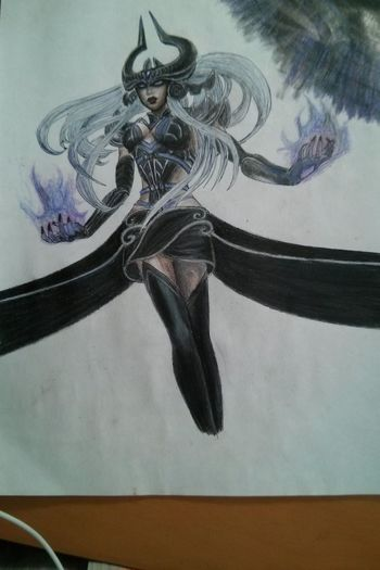 League Of Legends Syndra Drawing Video Gaming