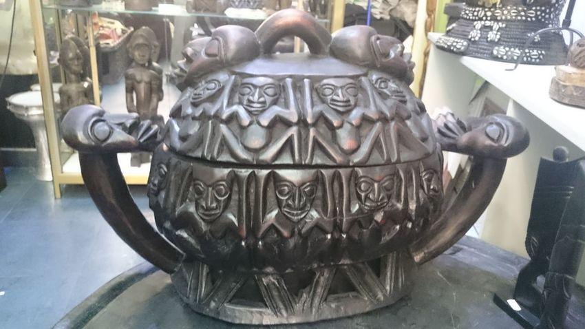 Camerun Art African Arte Africano De Madera En Bois Art Is Everywhere