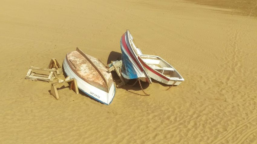 Beach Boats⛵️ Day East Side Las Palmas De Gran Canaria No People Outdoors Sand