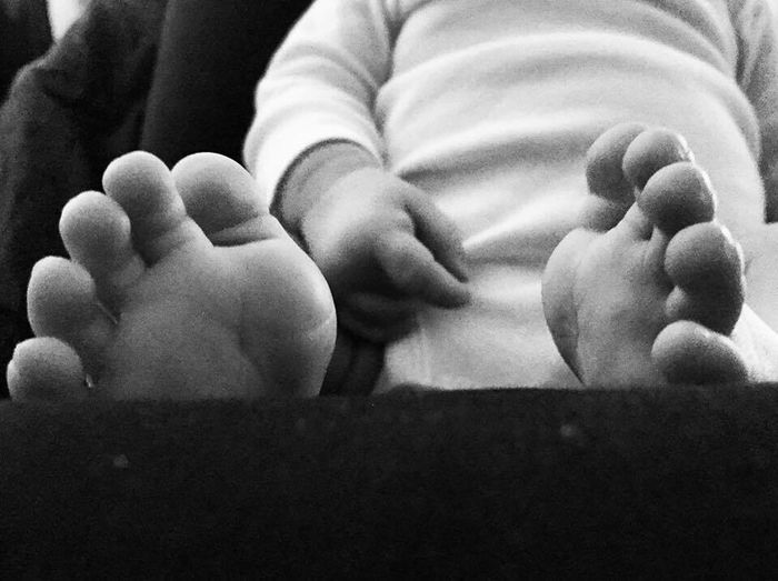 Monochrome Photography Baby Barefoot Real People Newborn Babyhood Close-up Childhood Infant Photography Baby Babyboy Innocence Babyfeet Toes Babytoes Boy First Eyeem Photo