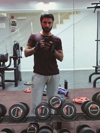 Body & Fitness Training Fitness Sexyselfie Gym Gym Time Hello World That's Me! Selfie ✌ Hi! Enjoying Life Selfportrait Model Day Looking At Camera Young Men Technology Lifestyles Fun Nofilter Working Work Selfie Portrait Self Portrait Beauty