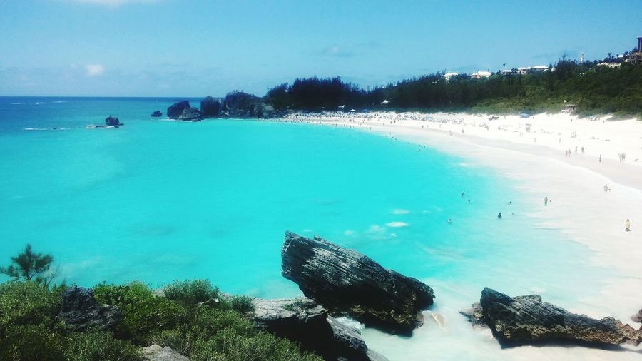 Horseshoe Bay Beach, most cleanest public beach I have ever seen. Crystal clear water, pinky white sand and not a single rubbish scatered.