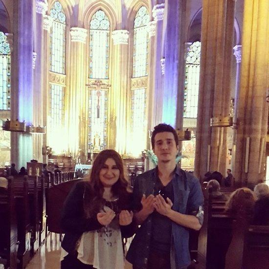 Kilise Church Dua Yasasin camii kahrolsun kiliseler amin with my sister
