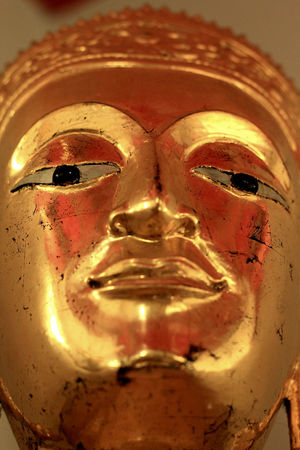 Gold face and peace for life Gold Life Spiritual Buddha Stockphotography Bangkok Thailand Fotografia Fotografi Photographer Abstract Peace Smile Religion Gold Colored Photo Photography Streetphotography Eyeemphotography Image Texture Portrait Photography Front View Close-up Minimalist Photography  Stockphoto