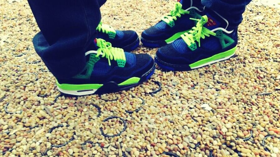 Matchin' Kicks With My Boyfriend ;)