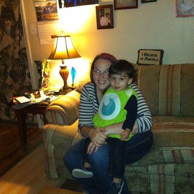 Andrea and zach again. Monstersinc MikeWazowski