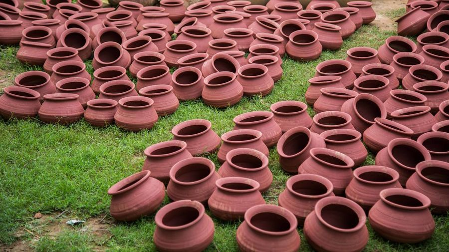 Beautifully Organized Earthen Pot Earthenware Pots Water Pot Live For The Story Be. Ready.