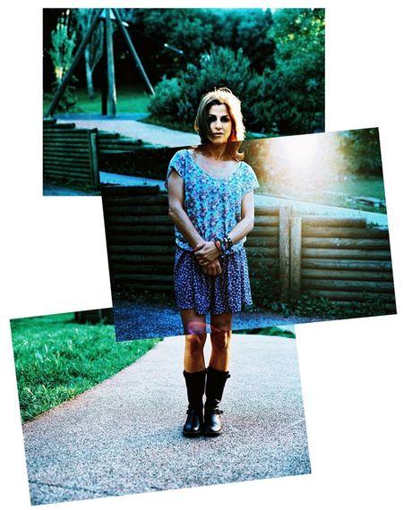 Elisa (Minolta XD7 + Kodak EB3-expired) Film Photography Analogue Photography 35mm Film Portrait Montage Photography Summer Natural Beauty