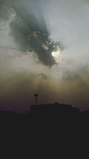 Dramatic Sky Antenna - Aerial Kite Festival