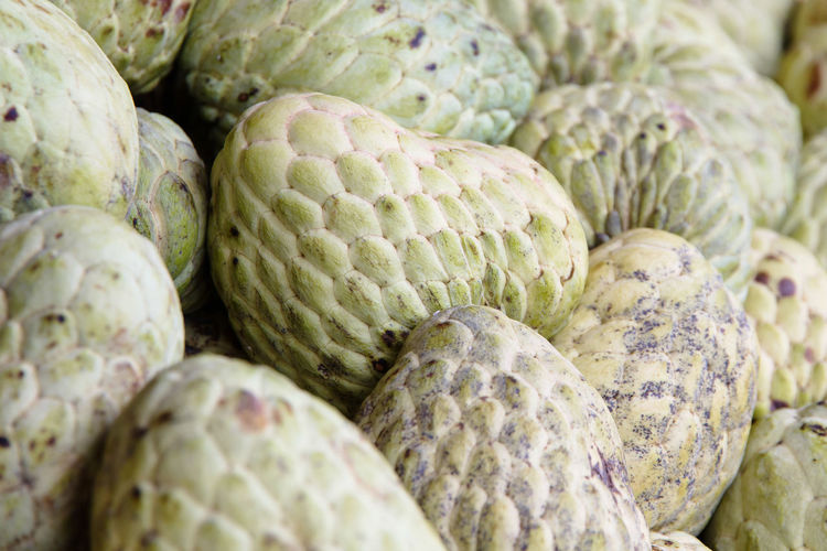 Full Frame Shot Of Custard Apples