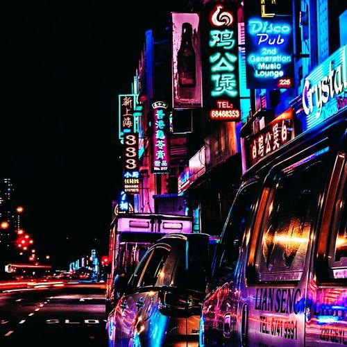 Neon lights, shine so bright. Streetsofsingapore