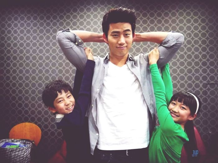 he's family man :) Taecyeon