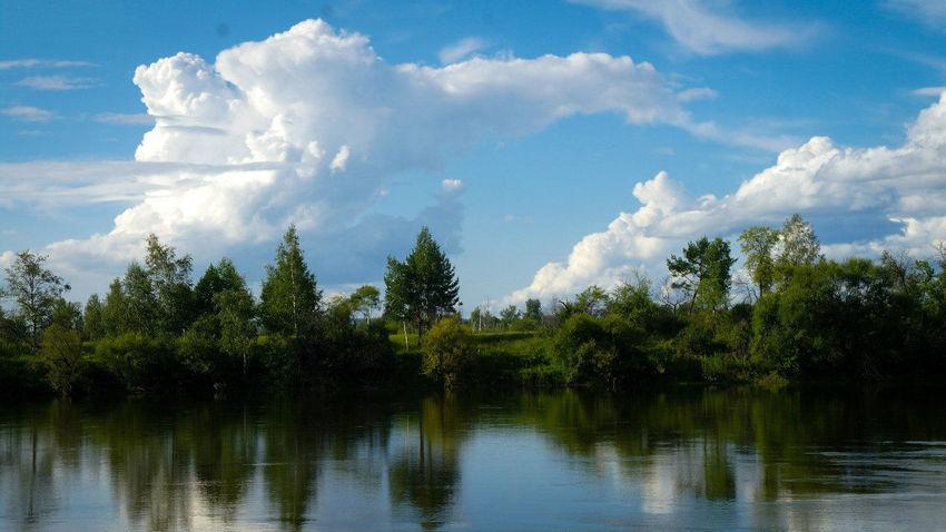 Beauty In Nature Clouds And Sky Coast Coastline Day Irkut Irkutsk Nature No People Outdoors River Sky Tree Water Иркут Иркутск The Great Outdoors - 2017 EyeEm Awards The Great Outdoors - 2017 EyeEm Awards