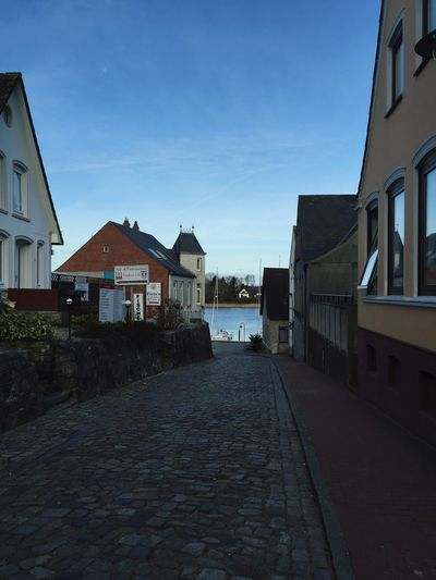 Old City of Kappeln , View to the Schlei