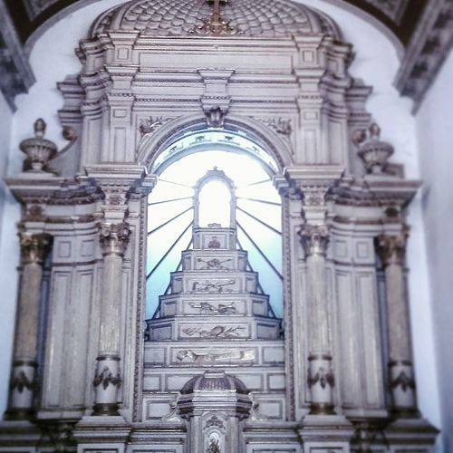 Church Portugal Serralves Museum Porto Lights Architecture Built Structure Religion Building Exterior Place Of Worship History Spirituality Architectural Column No People Arch Travel Destinations Outdoors Day City