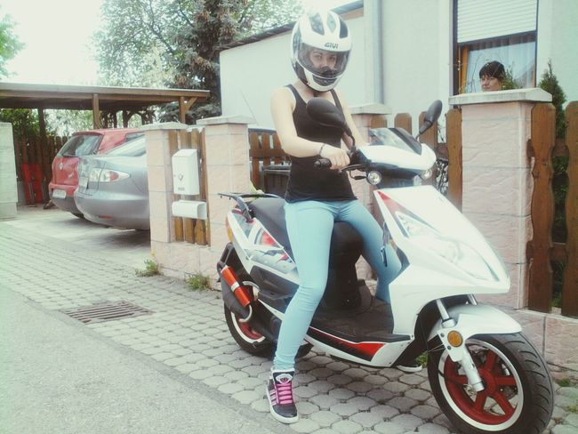 Where's my Summer ? have you stolen it? :o with Bob my sweet Moped