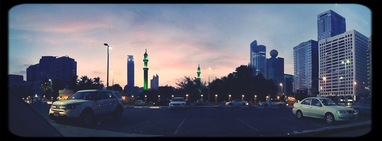 A summers sunset