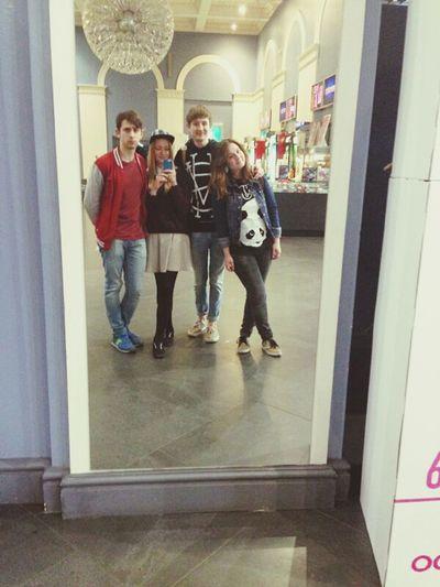 Friends Mirror Cinema Bestfriend