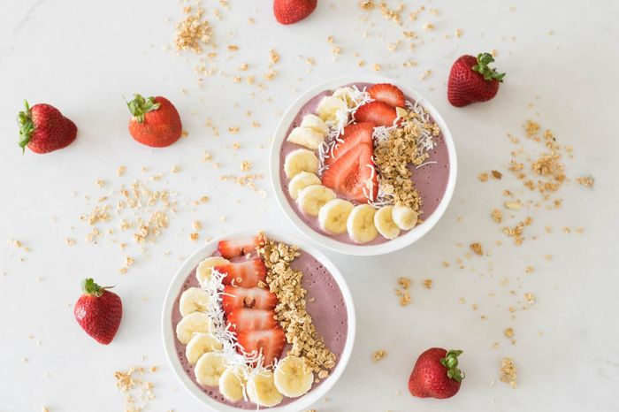 Fruit Strawberry Raspberry Food And Drink Healthy Eating Food Freshness Sweet Food Breakfast Healthy Lifestyle Variation Blueberry Dessert Chia Seed Cereal Plant No People Wireless Technology Day Close-up Smoothie Smoothiebowl Smoothietime EyeEmNewHere