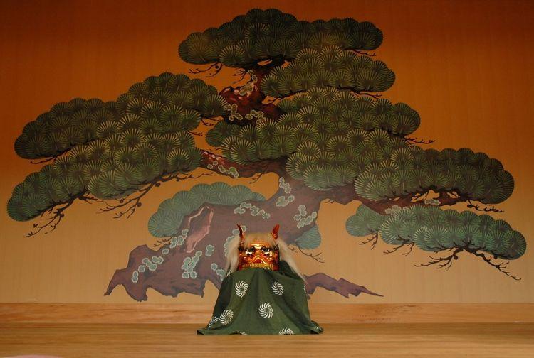 Noh Theatre Cultural Heritage Japan