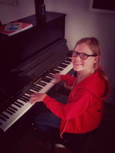 glückliche pianomaus!
