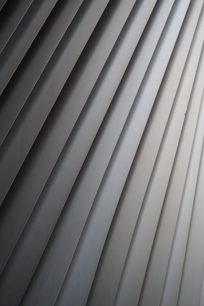 Berlin Architectural Detail Flap Grey Metal Metalic Modern Part Of Row Stripes Everywhere
