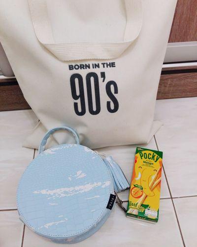 Souvenir frm bkk 😍😍 Riya  Pocky 90's