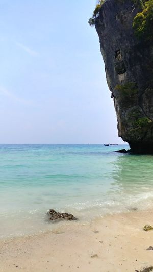 Monkey Beach - Phi Phi Islands, Thailand. Thailand Monkeybeach PhiPhiIslands Monkeys Kohphiphi Vacation Honeymoon ASIA Beautiful Phuket Water Ocean Travel Nature Waves Beach Thai Krabi Islandlife Seetheworld