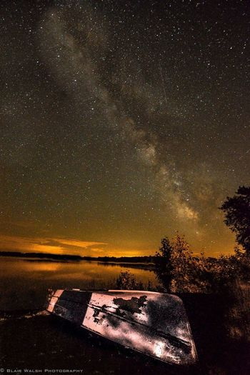 Night in the Northwoods🌲🏕 Northwoods Wisconsin Milkyway Photography Photooftheday Photo Nikon