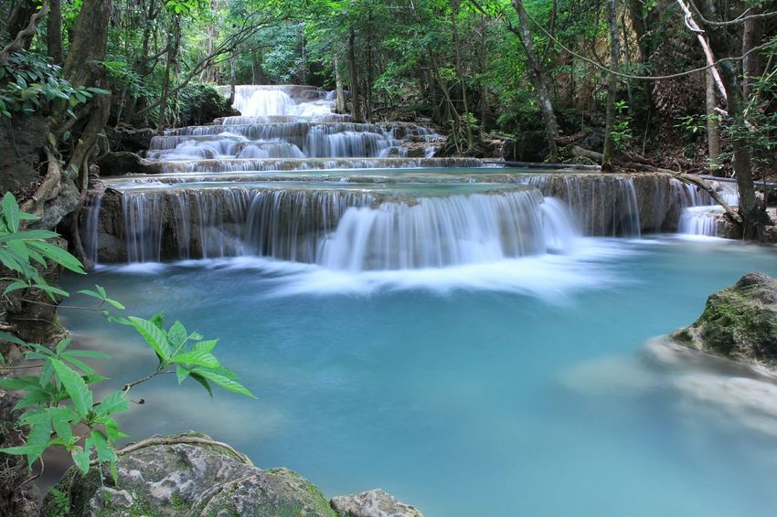 Nature On Your Doorstep Water_collection Waterclean Waterfall Beautiful Nature on Kanchanaburi