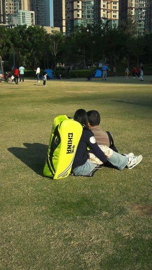 Togetherness Greenery Field Sportground Hang Hau