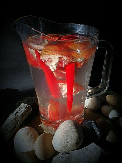 Healthy Drinks Pomegranate Pomegranate Water Water With A Bite Chillipepper Food And Drinks Liquid Lunch