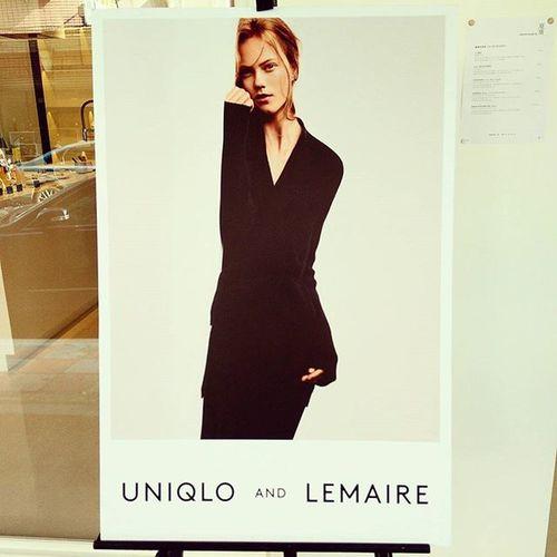 UNIQLO and LEMAIRE 2015AW 每一件都充滿法國味~披肩超美 一定要搶到!10/02 UNIQLO限定旗艦店 & online shop限量販售!Uniqlo Uniqlotw Uniqloandlemaire Lemaire Shoppinglist