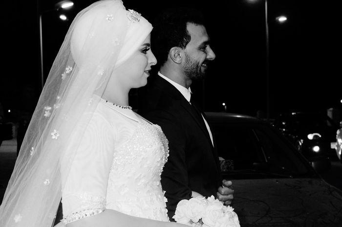 Wedding Bride Wedding Dress Bridegroom Celebration Life Events Wedding Ceremony Celebration Event Togetherness Love Ceremony Veil Happiness Married Night