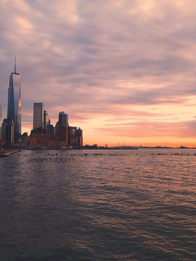 New York City, TriBeCa ❤️ NYC Photography NYC Livefromnyc Beautiful Sunset