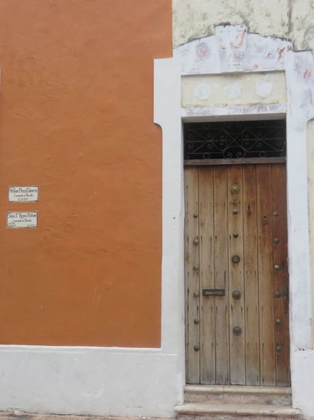 Architecture Brick Wall Built Structure Closed Day Deterioration Door Exterior No People Old Orange Colour Outdoors Wall