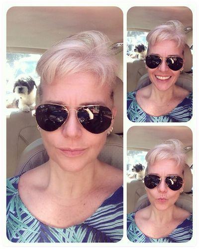 That's Me and Mysonlhasa My Son Spyk Sunglasses Casual Clothing Facial Expression Loyalty My Way Sunny Day On The Way EyeEm ErikaFaltin💫 Komk
