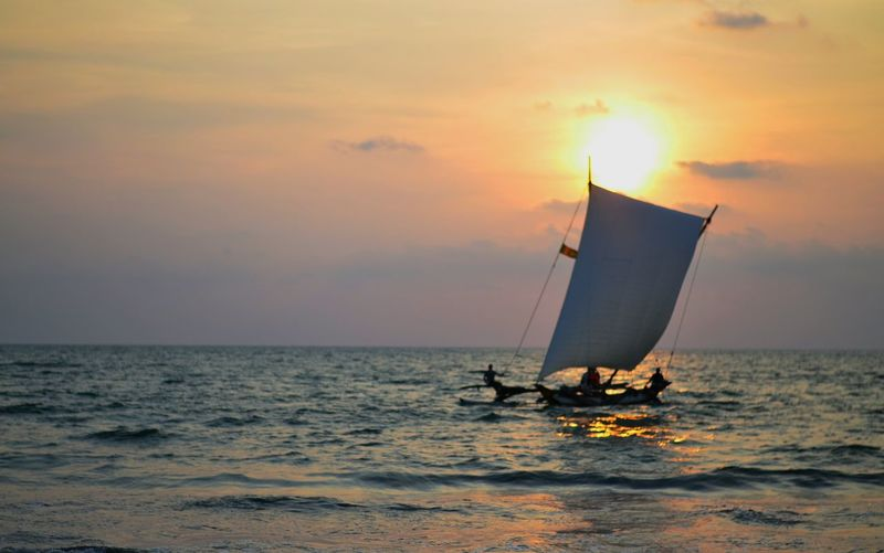 Spotted In Thailand Sailboat Sunset Fishing Boat Showcase April People Of The Oceans
