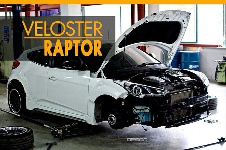 Veloster Bodykit Tuned Veloster Veloster Raptor LORDPOWER DESIGN Full Body Kit 나만의 차를 완성하는 곳_로드파워디자인 Hyundai Veloster Turbo Raptor Kdm Veloster