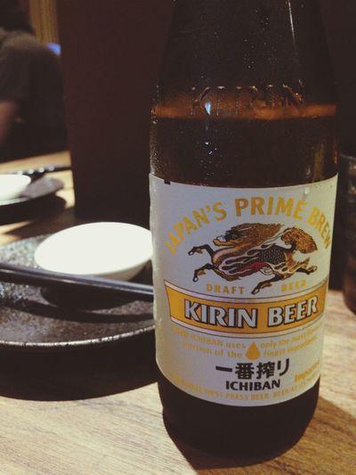 Enjoying Life Beer Kirin Dinner Time