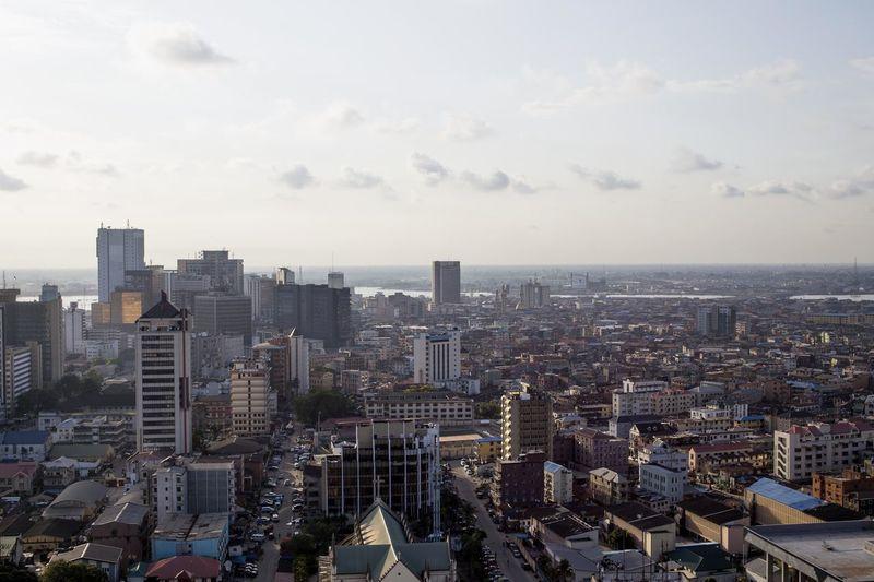 Lagos Nigeria Cityscape Architecture City Cityscape Development Lagos Nigeria Nigeria Skyline Skyscraper