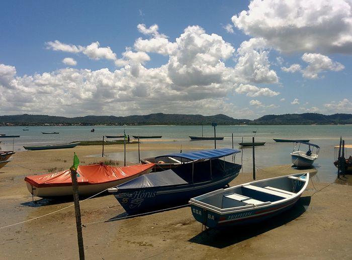 first eyeem photo boats beach Bahia lifestyles Sand & Sea