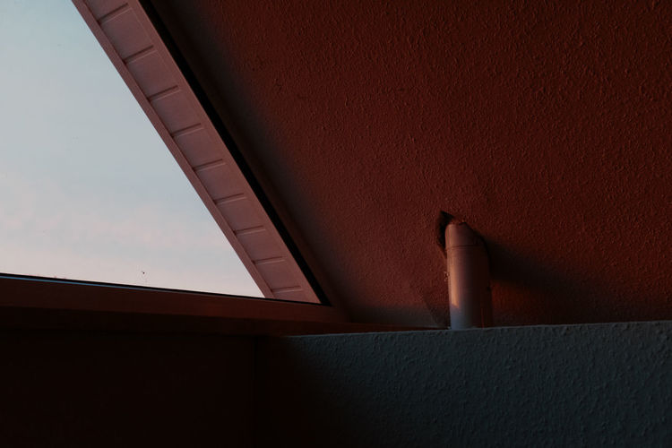 Cropped Image Of Window
