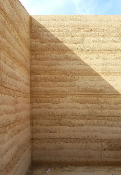 Architecture Earth Natural Architectural Detail Architectural Feature Design Material Natural Materials Rammed Rammed Earth Steffen_welsch