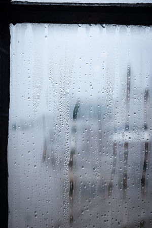 Rain Rainy Days RainDrop Condensation Condensation Trail Condensation On A Window Glass - Material Window Transparent Close-up Wet Water No People Drop Full Frame Indoors  Backgrounds Nature Day Glass Rainy Season Window View Steamy Windows Steamy Window Mood Captures