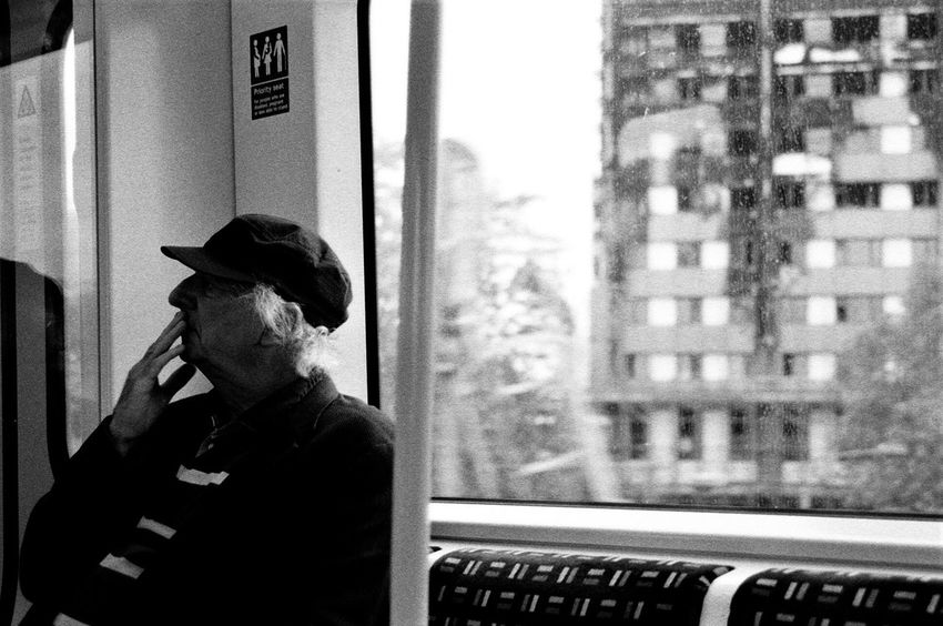 Grenfell; Aftermath II Light And Shadow Film Photography Canon A-1 Carl Zeiss Jena Analogue Photography Blackandwhite Real People Window Looking Through Window