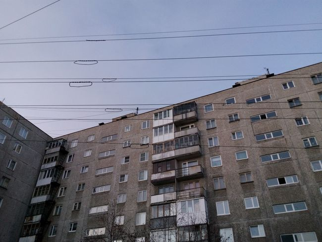 Block Of Flats (or call it Tenements) today's Morning in Murmansk. The Purist (no Edit, No Filter) Architecture Urban Geometry Cityscapes Light And Shadow Urban Landscape