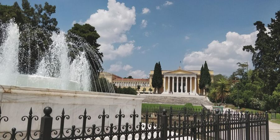 OnePlus 5t 3XSPUnity Athens, Greece Athens King - Royal Person City Tree Sky Architecture Cloud - Sky Fence Chainlink Fence Historic Gate Historic Building Architectural Column