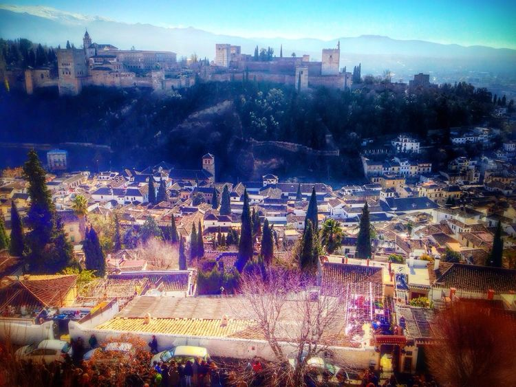 Darro & Alhambra Urban Asymmetry Silhouette Hdr_Collection EyeEm Best Shots & Edits