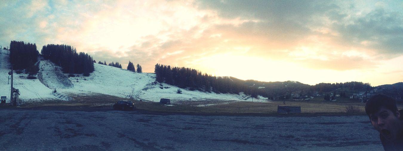 Photo bomb! Valberg Mountains Snowing